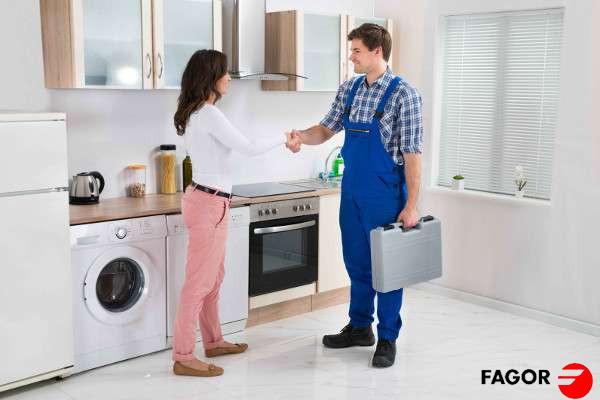 Empresa de reparación electrodomésticos Fagor